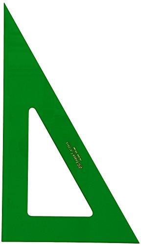 Faber-Castell 813 – Regla técnica, 30 cm + 566-28 – Escuadra técnica sin graduar, 28 cm + 666/28 – Cartabón para dibujo…