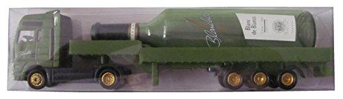 Preisvergleich Produktbild Blanchet Nr. - Blanc de Blancs - MAN - Sattelzug mit Weinflasche