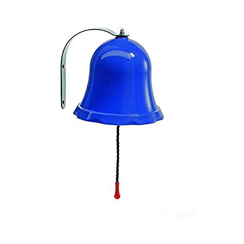 Gartenpirat Glocke blau aus PP/Metall für Kinder