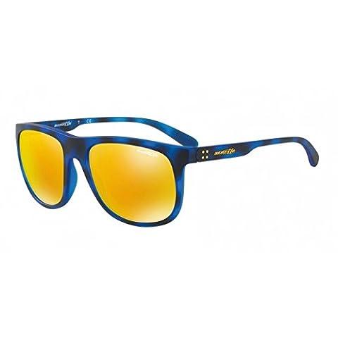 Arnette AN4235 2464/N0 - Crooked Grind, Matte Blue Havana/24K Iridium, 56mm, Sunglasses