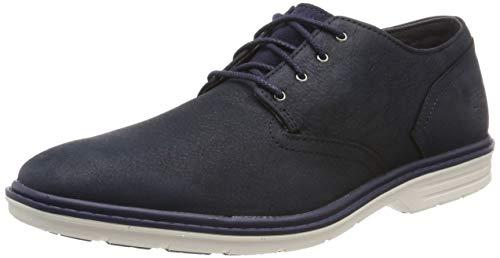Timberland Herren Sawyer Lane Waterproof Oxford Schuhe, Blau (Black Iris Zr0), 43 EU -