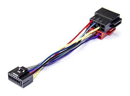 Adaptateur E5 ISO convertisseur fiche c/âble Faisceau autoradio pour Kenwood AERZETIX C2058