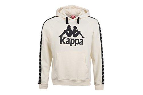 Kappa U Hoody Tello Beige Black Vanilla
