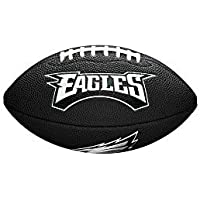 Wilson Philadelphia Eagles NFL Mini Football Schwarz