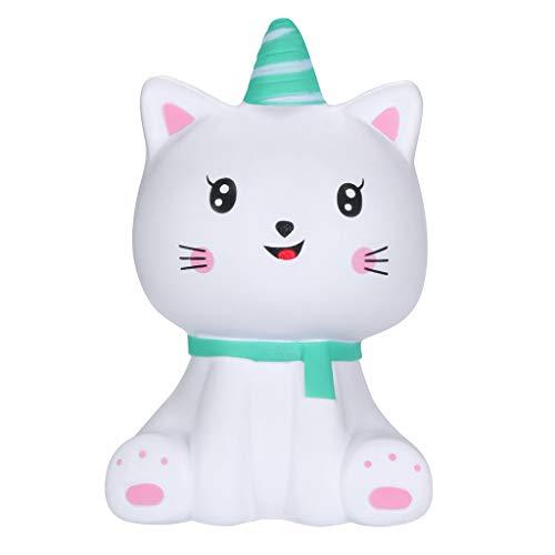 Kawaii Langsam Dekompression Creme Duftenden Groß Squishy Spielzeug Squeeze Spielzeug,Squishies Kawaii Cartoon Kitty Spuer Langsam steigende Creme duftende ()
