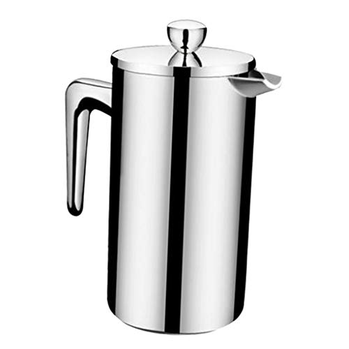 F Fityle Französisch Kaffeekanne French Press Kaffeemaschine mit Doppel Filter - 350 ml