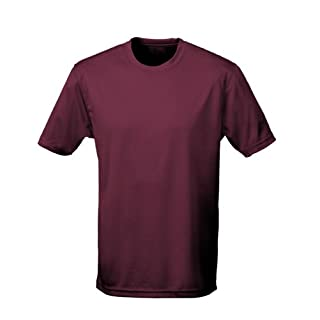 AWDis Cool T-Shirt : Color - Burgundy : Size - M