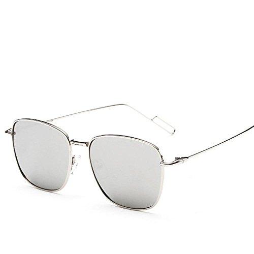 Aoligei Farbe Film reflektierende Polarisierende Sonnenbrillen Box Metall Männer und Frauen allgemein Sonnenbrille Sonnenbrille