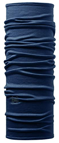Buff Erwachsene Multifunktionstuch Merino, Solid Denim, one size -