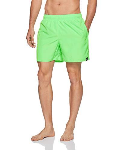 adidas Herren Solid Short Length Badehose, Shock Lime, L