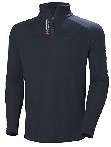 Helly Hansen Herren HP 1/2 Zip Sweatshirt, Navy, XL 1/2 Zip Fleece-navy