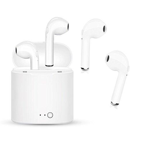 Auricular Bluetooth, kit de carga con auriculares inalámbricos en la oreja los...