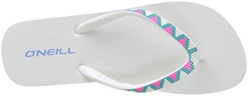 Oneill Fw Imprimé Flipflop Femmes, Chaussures De Plage Et Piscine (pink Aop)