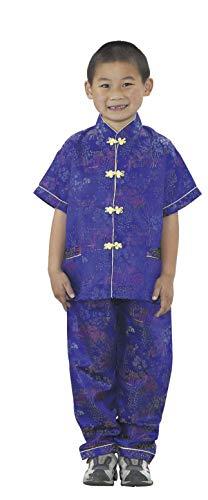Asian Kostüm Jungen - Kinder-Fabrik CF100-319B Asian Boy Kostüm, 2,5cm Höhe, 2,5cm Breite, 2,5cm Länge