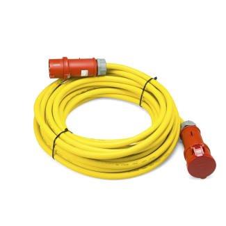 TROTEC CABLE ALARGADOR PROFESIONAL DE 20 M / 400 V / 6 MM² (CEE 32 A)