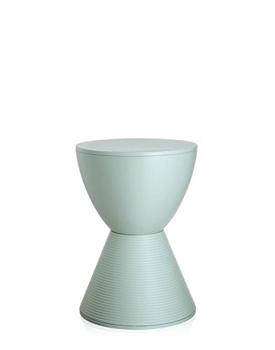 Kartell Prince AHA Hocker - fenchelgrün - Philippe Starck