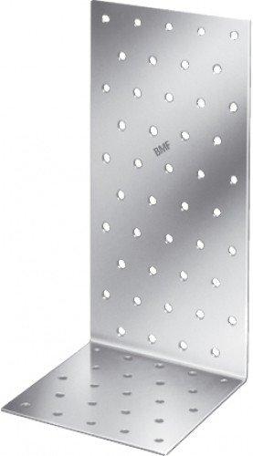 Simpson Strong-Tie, Set di piastre di connessione ad angolo per strutture in legno ANP, zincato a fuoco, 2,5 mm, 100 x 100 x 100 cm, 50 pz. - Staffa Bullone
