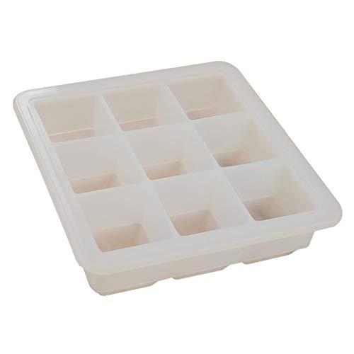 Silikon Eiswürfelform,Eiswürfelschale,Flexibles, Sauberes, Lebensmittelechtes Material Für Große Eiswürfel Für Wasser, Cocktails, Whiskys Und Andere Getränke