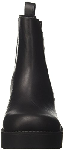Windsor Smith Eagar, Stivaletti Donna Nero (Black Leather)