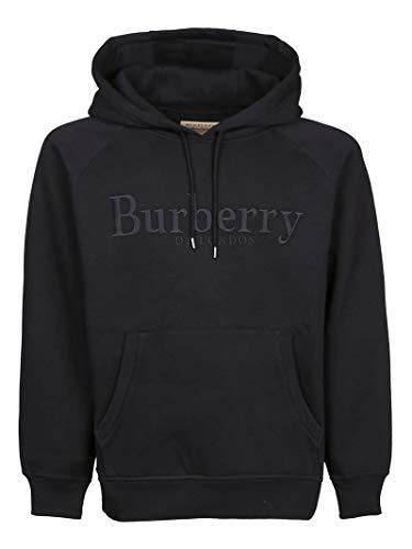 BURBERRY Herren 8007119 Schwarz Baumwolle Sweatshirt