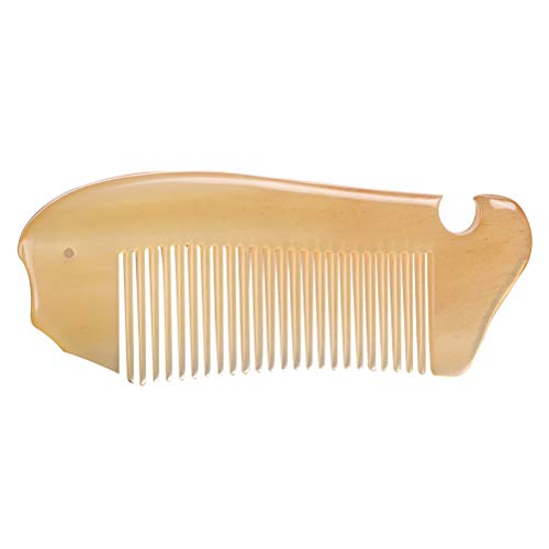 Vosarea Natürliche OX Horn Hair Comb für Frauen Männer Bart Kämme Schließen Zähne Antistatische Haarpflege -
