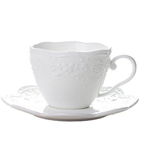 Europeo Royal ceramica tazza di caffè/ lastra di vetro/Semplice bone China caffè tazza-A