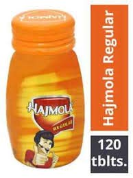Dabur Hajmola Digestive Tablets, Regular – 120 Tablets (Bottle)
