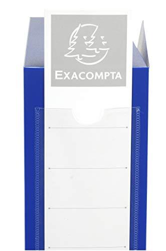 Exacompta 59832e scatole archivio, 24x32 cm, blu