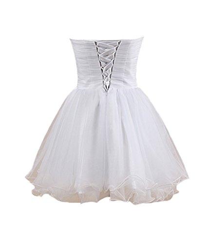 Fanmu - Robe - Femme Small Blanc - Blanc