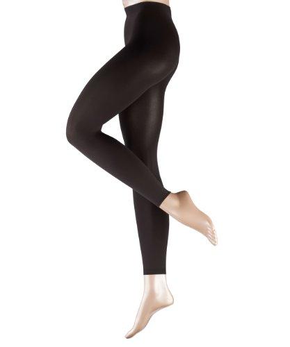 FALKE Damen Legging Pure Matt 100 Denier Einfarbig 100 DEN, Gr. 42-44 (Herstellergröße: M/L), Grau (anthra new 3529) (100 Strumpfhose Denier)