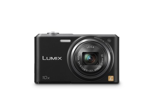 Panasonic DMC-Sz3EG-K Fotocamera Digitale 16 MP Zoom 10x Grandangolare 25 mm MOS, Nero