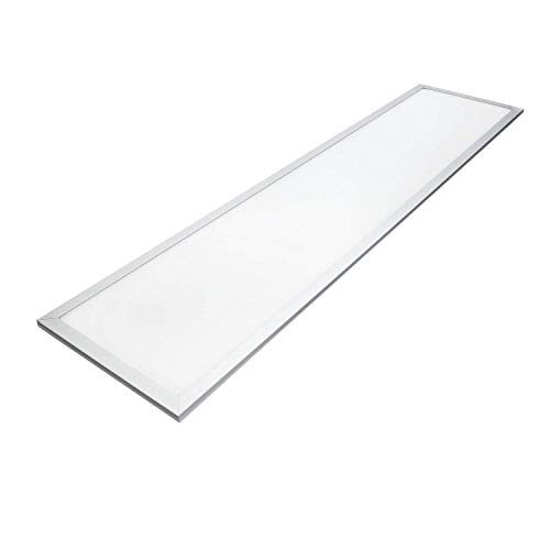 Panel LED rectangular, 40 watios, luz fria (6000K), 3150 lumen, 295x1195mm [Clase de eficiencia energética A+]