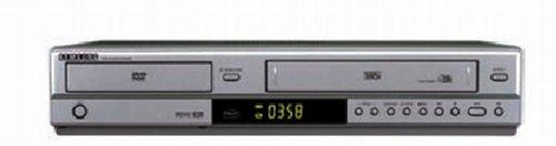 Samsung 6700 S - Reproductor de DVD y Grabador de VHS, Color Negro
