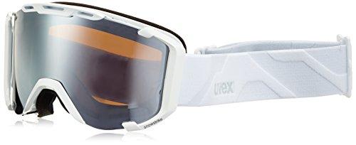 Uvex Erwachsene Snowstrike LTM Skibrille, White Mat, One Size