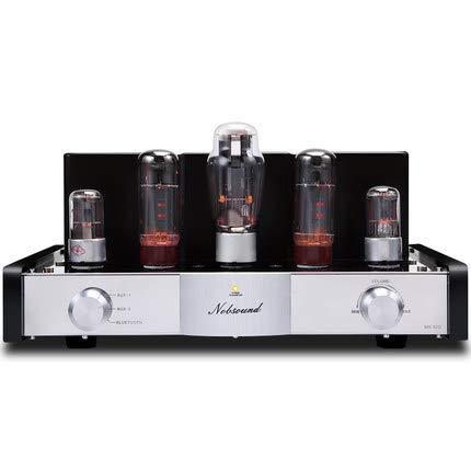 YXS 12W x 2 Klasse A Vakuumröhrenvollverstärker, Stereo HiFi, integrierten Verstärker drahtlose Bluetooth/Haus Stereo-Receiver, Wunderbar, klar, laut, warm, stark erhöht Musik,Weiß,220v