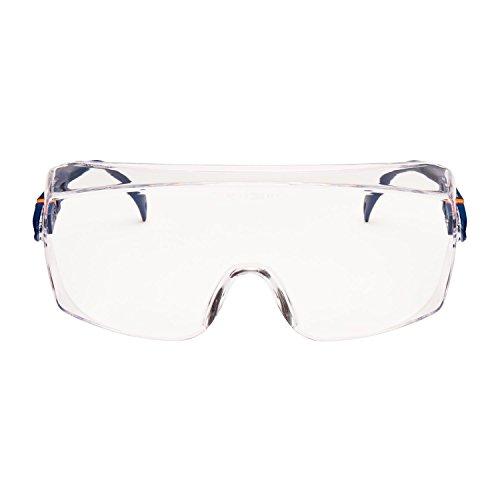 3M Schutzbrille 2800, Überbrille, Besucherbrille, AS, UV, PC, klar