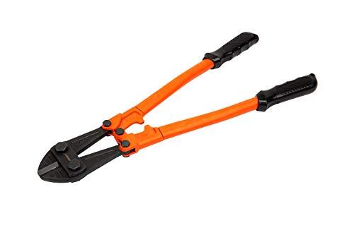 KENDO Profi Bolzenschneider 450mm - mit Chrom-Vanadium-Stahl-Klinge, gehärteten Schnittkanten und ergonomischem Griff