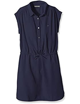 Tommy Hilfiger Mädchen Kleid Dg Basic Shirt Dress S/s