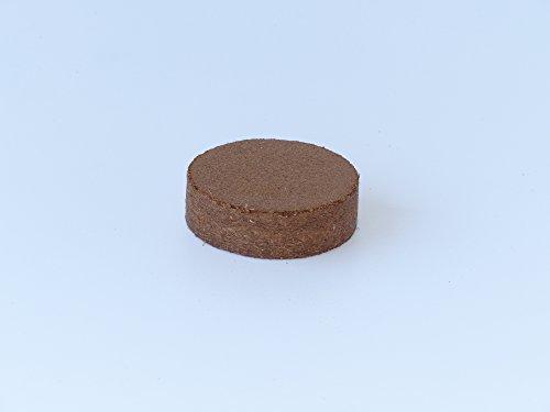 Kokos Quelltabletten - Quelltabs Ø 60 mm - 5 Stück