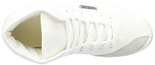 Kawasaki Basic Plateau Unisex-Erwachsene Hohe Sneakers Weiß (White/01)