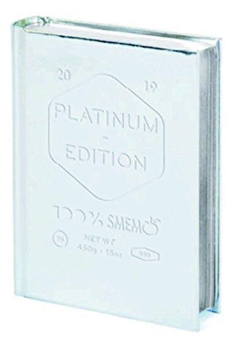 Diario agenda smemoranda special edition platinum 2019 datato mini 10x14 argento