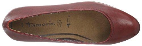 Tamaris - 22408, Scarpe con Tacco Donna Rosso (Rot (CHILI 533))