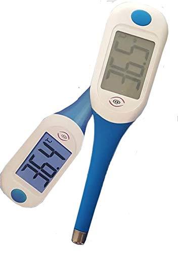 Termometro parlante rapido con grande display LCD