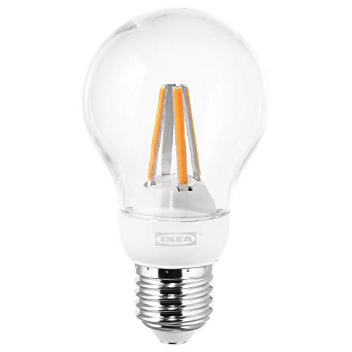 4a575b5e043 IKEA LEDARE E27 600 Lumen Clear Dimmable LED Globe Bulb