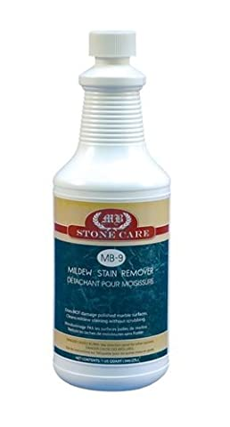 MB Stone Care Mildew Stain Remover, 2.4 Pound by MB Stone Care