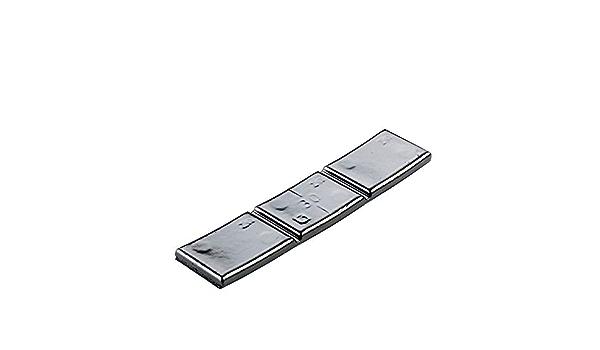 100x Klebegewichte Schwarz Typ361 30g Klebegewichte Alufelgen Auswuchtgewichte Auto