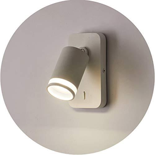 Topmo-plus cabecera lampara de pared GU10 Lampe cama Luminaire de dormitorio Lámpara de pared interior...