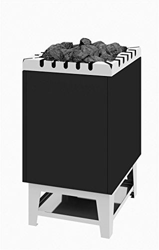 Saunaofen-Standmodell Typ 44 - 15 kW Anthrazitmantel