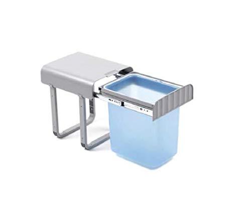 REJS Aladin1 - Cubo de Basura Individual 30 recipientes de 16 L, con Mecanismo de extracción Total...