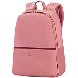 "SAMSONITE Nefti - Backpack 14.1"" Mochila Tipo Casual, 41 cm, 15 Liters, Rosa (Old Rose/Burgundy)"